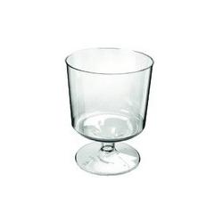 *plastic wijnglazen(12) 17cl  0%  0.000