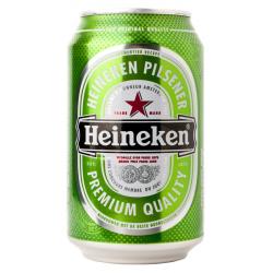 Heineken pils blik  5%  0.330