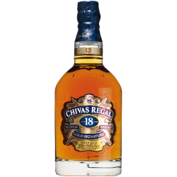 Whisky chivas regal 18 years old 40%  0.750
