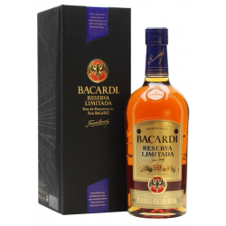 Rum bacardi res limitada liter 40%  1.000
