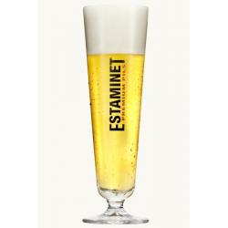 Bier b estaminet voetglas 18 of25cl  0%  0.25