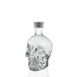 Vodka crystal head miniatuur 40%  0.050