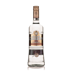 Vodka russian stand gold liter gins 40%  1.00