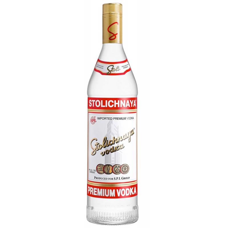 Vodka stolichnaya liter letland 40%  1.000