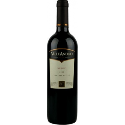 Chili valle andino merlot rouge 13%  0.750