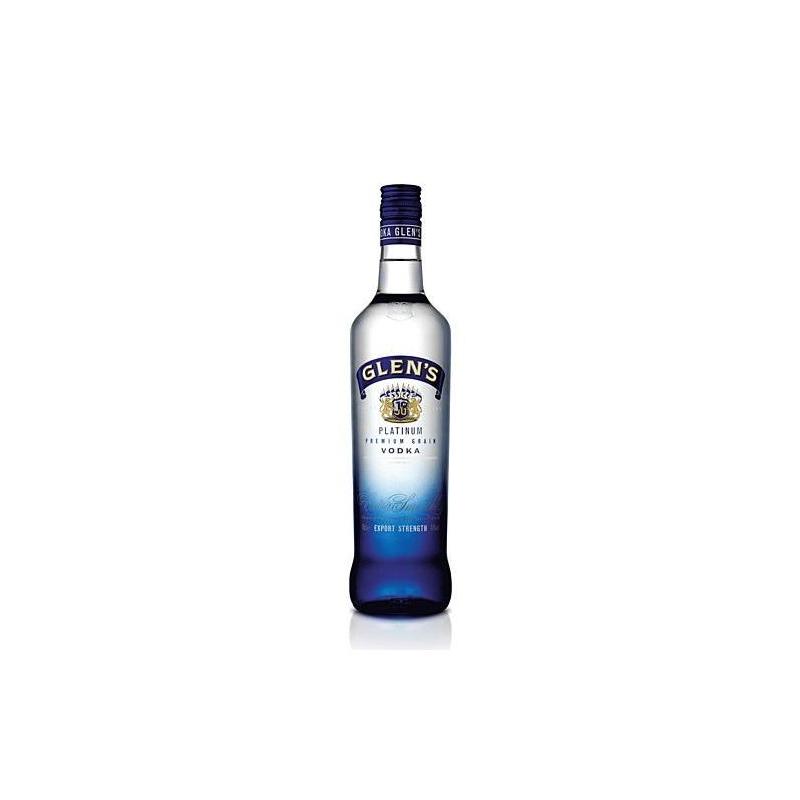 Vodka  glens platinum 0.7 export 40%  0.700