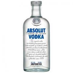 Vodka absolut liter 40%  1.000