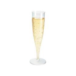 *plastic champagneglas(doos 10st.)  0%  0.000