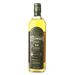 Irish malt bushmill 10yrs. 40%  0.750
