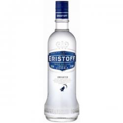 Vodka eristoff brut wit liter 37%  1.000