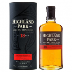 Malt highland park 18yrs...