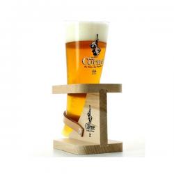 Bier b corne du bois hoorn+hout  0%  0.200
