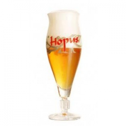 Bier b hopus voetglas+borrelglasset  0%  0.30