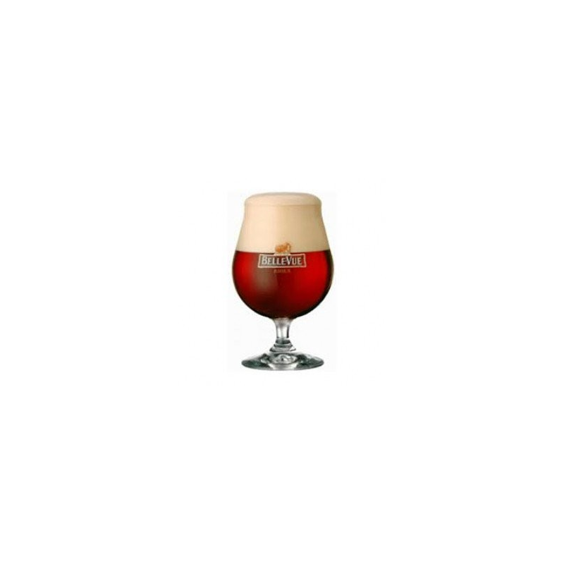 Bier b bellevue kriek ballon glas  0%  0.200