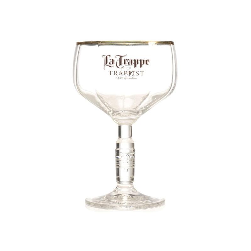 Bier n la trappe bokaal coupe  0%  0.330