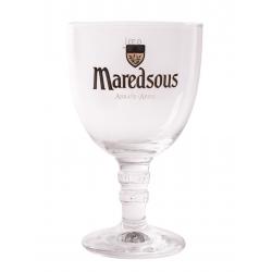 Bier b maredsous tulp voetglas  0%  0.000