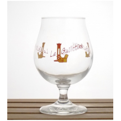 Bier b guillotine glas  0%  0.200