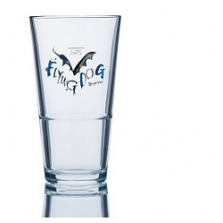 Bier e flying dog glas 28cl.beker  0%  0.280