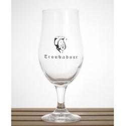 Bier b troubadour voetglas  1%  0.300