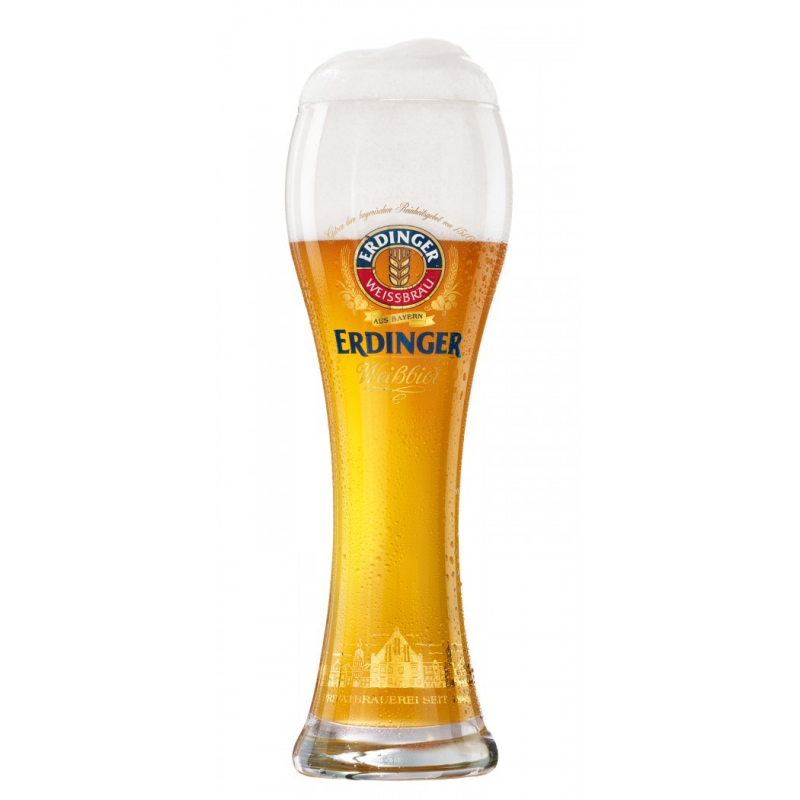 Bier d erdinger 0.5ltr glas  0%  0.500