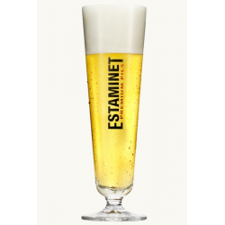 Bier b estaminet voetglas 18 of25cl  0%  0.25