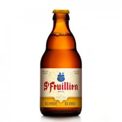 B st feuillien blond bier fles  6%  0.330