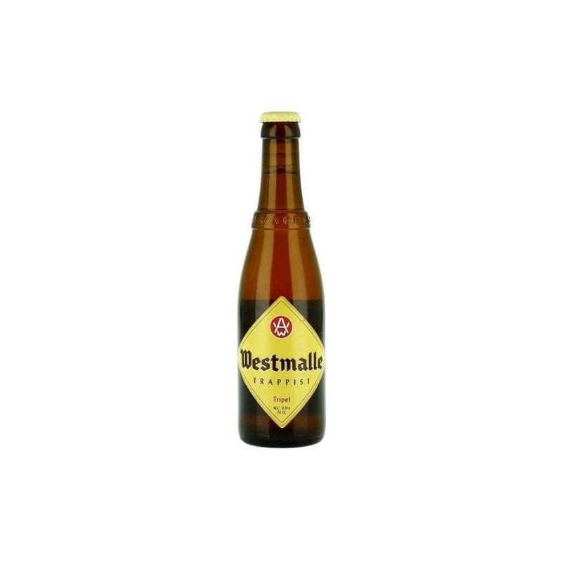 B westmalle trappist tripel fles  7%  0.330
