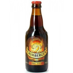 B grimbergen dubbel bier fles  6%  0.330