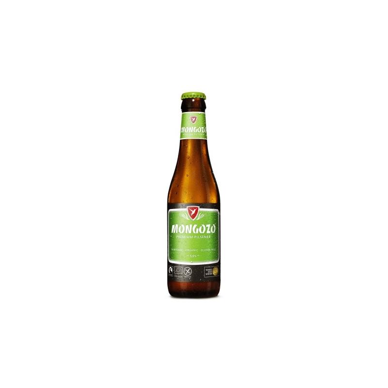 B mongozo pils bio glutenvrij fles  5%  0.330