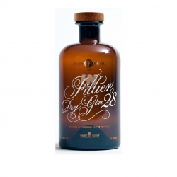 Gin filliers 0.5ltr 28 dry gin clas 46%  0.50