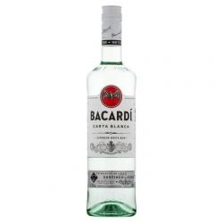 Rum bacardi carta blanca 0.7ltr 38%  0.700