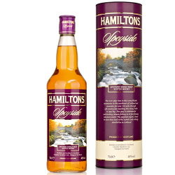 Malt hamiltons speyside single 40%  0.700