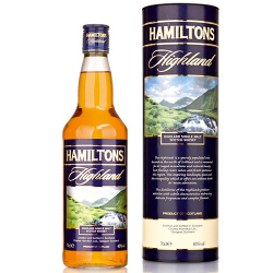 Malt hamiltons highland single 40%  0.700