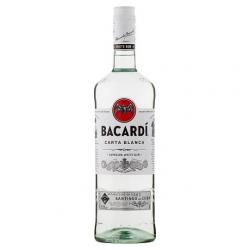 Rum bacardi carta blanca...