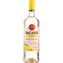 Rum bacardi.limon mix...