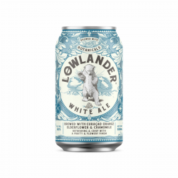 Lowlander white ale blik...