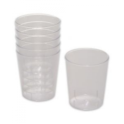 *plastic beker borrel 2cl...