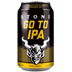 A stone go to ipa blik  5%...