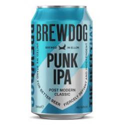 E brewdog punk ipa pale ale...