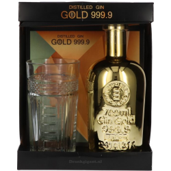 Gin gold 999.9 finest...