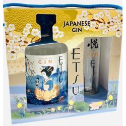 Gin etsu japan doos + glas...