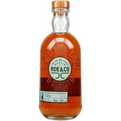 Irish whiskey roe & co 45%...