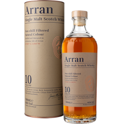 Malt arran 10yrs single...