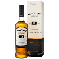 Malt bowmore 12yrs islay...