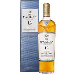 Malt macallan 12yrs 3cask...