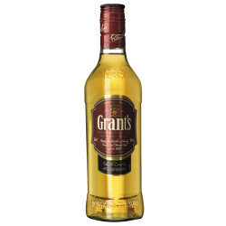 Whisky grant's -half- 43%...