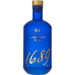 Gin 1689 authentic dry gin...